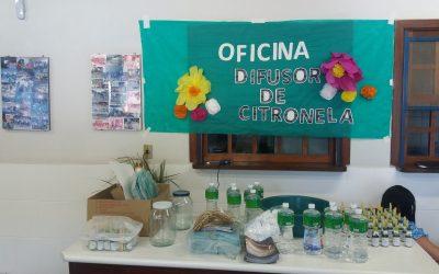 Oficina de Difusor e Palestras com as Famílias!