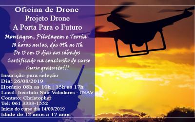 Oficina de Drone | Projeto Drone – A Porta para o Futuro!