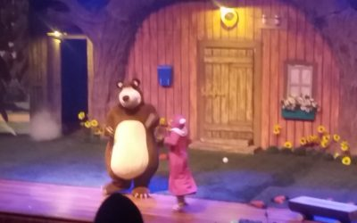 Musical Masha e o Urso!