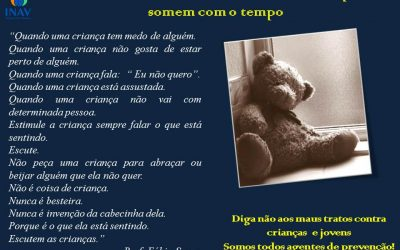 + Amor, violência não. Campanha contra o abuso e violência infantil.